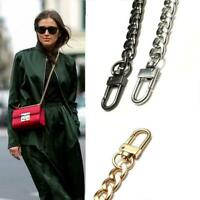 20-120cm Flat Metal Replacement Chain for Crossbody Shoulder Bag Handbag Strap