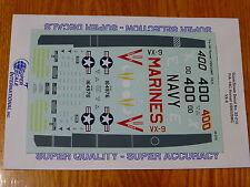 Microscale Decal 1:32 Scale #MS32-210 F/A 18C Hornet: USN/USMC, VX-9