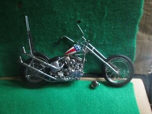 FRANKLIN MINT EASY RIDER ULTIMATE CHOPPER (1:10 SCALE) DAMAGED FOR SPARES