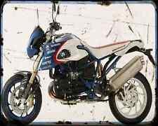 Bmw Hp2 Megamoto Pikes Peak Edition A4 Metal Sign Motorbike Vintage Aged