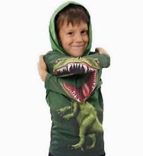 Kinder Jungen Dinosaur Dinosaurier Cosplay Pullover SweatShirt Hoodie Jacke Top
