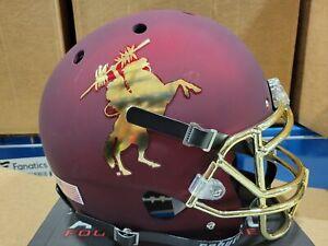 Florida State Seminoles UNCONQUERED Alternate Schutt Mini Football Helmet