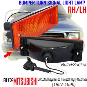 For Mitsubishi Dodge Ram 50 Triton L200 Mighty Max 1987-96 Front Bumper Light