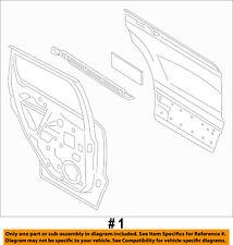 FORD OEM 13-16 Escape Rear Door-Shell Frame Panel Left CJ5Z7824631A