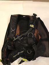 Aqua Lung Malibu RDS Dive Vest With Hoses & Hanger Size Large See Pics