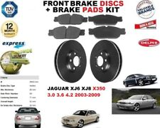 Pour Jaguar XJ6 XJ8 3.0 3.6 4.2 V6 V8 Frein Avant Disques Set + Kit Plaquettes