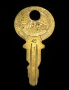 OEM Ignition Switch KEY #45 from Briggs & Stratton Series #31-54, 1920's Vintage