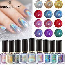 6ml BORN PRETTY Holographics Glitter Nail Polish Laser Nail Art Varnish Decor