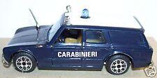 RARE OLD MADE ITALY 1976 ALFA ROMEO GIULIA FAMILIARE CARABINIERI REF AE15 1/43