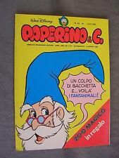 PAPERINO E C. #  49 - 6 giugno 1982 - CON INSERTO - WALT DISNEY - OTTIMO