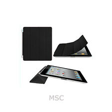 iPAD 2 & 3 SLiM MAGNETiC SMART COVER CASE STAND Black