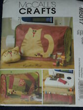 Cat Sewing Machine Cover Organizer McCalls 5017 Sewing Pattern