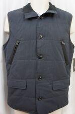 INC International Concepts Mens Vest Sz S Dark Navy Pin Striped Vest