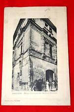 NARBONNE MAISON HISTORIQUE DITE DES TROIS NOURRICES 1913 AUDE