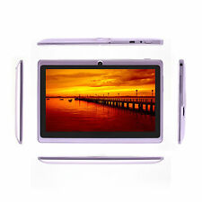 """iRULU 16GB 7"""" Google Android 4.4 Quad Core 1024*600 HD Screen Tablet PC w/ Case"""
