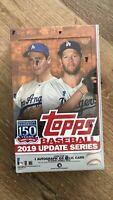2019 Topps Baseball Update Series Baseball Hobby Box