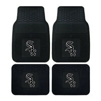 New MLB Chicago White Sox Car Truck Front Back Rubber All Weather Floor Mats