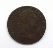 GREAT BRITAIN 1775 HALF PENNY EVASION TOKEN  ABOUT UNCIRCULATED SCARCE!