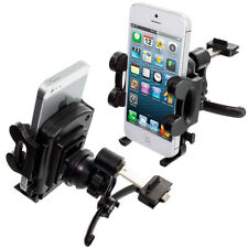 Car Vent Mount 360 Degree Black Rotating Durable Holder Stand for Phones