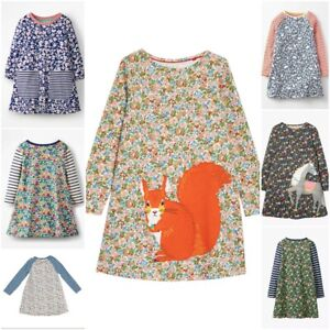 New Ex Mini Boden Girls Floral Print  Dress, Was £32 Now £12.99