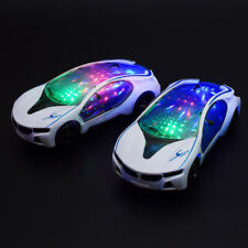 NEW LED Flashing Light Car Toys Music Sound Electric Toy Cars Kids Children Gift