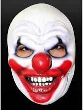 Clownmaske Maske Latex Karneval Halloween Horrorclown