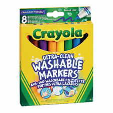 Crayola Ultra Clean Washable Markers 8 - Multicultural Colours