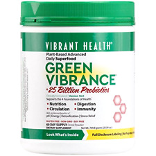 Green Vibrance, Plant-Based Daily Superfood + Probiotics and Digestive Enzymes