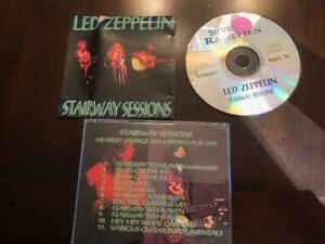 LED ZEPPELIN IMPORT CD: STAIRWAY SESSIONS! REHEARSALS 1970- 1971 PLANT PAGE