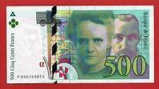 ( Ref: P1 PM) 500 FRANCS PIERRE ET MARIE CURIE 1994 SPL