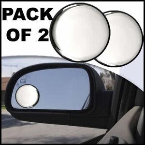 2 PACK CONVEX BLIND SPOT MIRROR MIRRORS TOWING REVERSING DRIVING SELF ADHESIVE