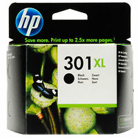 New Genuine / Original HP 301XL Black for HP Deskjet 2540/1010 (CH563EE)