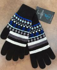 PAUL SMITH FAIR ISLE 100% WOOL GLOVES BNWT (MATCHING SCARF AVAILABLE) MADE IN UK