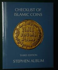 Album, Stephen. Checklist of Islamic coins. Numismatic numismatique