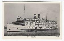 Canada Steamship Lines SS RICHELIEU Quebec Canada 1920-40s CSL advertising RPPC