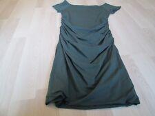 BODEN SUMMER SUN GREEN BARDOT RUCHED SIDE DRESS 1OL