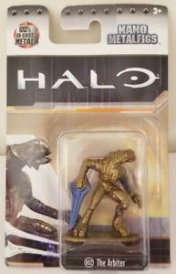 Halo Nano Metalfigs DieCast Metal Collectable Figure The Arbiter Figurine MS12