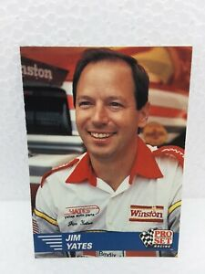 1991 Pro Set Jim Yates Trading Card Nhra