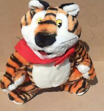 More details for kellogg's frosties tony the tiger plush soft toy 1990s large