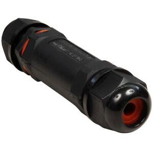 Kabelverbinder Verbinder LxØ 107x27mm - IP68 - wasserdicht - 230V - 3-polig