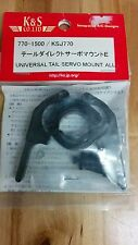 K&S Universal Tail Servo Mount: All KSJ770