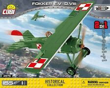 COBI Fokker E.V (D.VIII)/ 2976 / 155 pcs blocks WWI German fighter Small Army ,