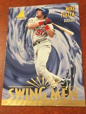 1995 Pinnacle Swing Men MIKE PIAZZA Los Angeles Dodgers 300