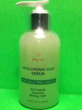 6oz Hyaluronic Acid Serum, Silk Peptide,Matrixyl, Vitamin C,Argireline, GreenTea