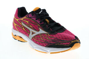 Mizuno Wave Catalyst R639B9 Womens Purple Mesh Lace Up Athletic Running Shoes 8
