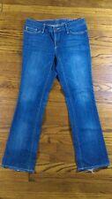 Eddie Bauer modern Fit Barely Boot Denim Jeans Size 6       c10