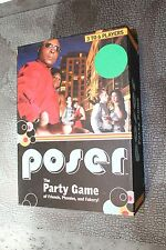 Poser the Party Game of Friends, Phonies, and Fakery! Used by Babooshnik