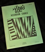 Beginner Accordian Course Lesson Book New Vintage OW Appleton Apps Music House!