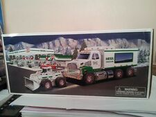 HESS* 2008* TOY* TRUCK* AND* FRONT LOADER* MIB*