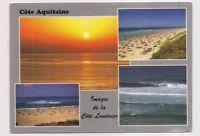 côte aquitaine , images de la côte landaise